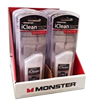 Monster iClean Screen Clean Kit for iPad, iPhone, and Computer Screens (12)