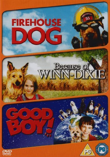 family-triple-firehouse-dog-because-of-winn-dixie-good-boy-dvd-by-mayte-garcia