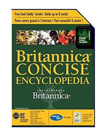 Palm Britannica Concise Encyclopedia (P10922U)