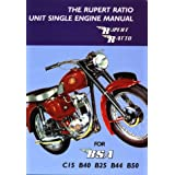 The Rupert Ratio Unit Single Engine Manual for BSA C15, B40, B25, B44, B50par Rupert Ratio