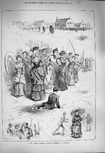 1884 Grand National Archery Meeting Windsor Sport