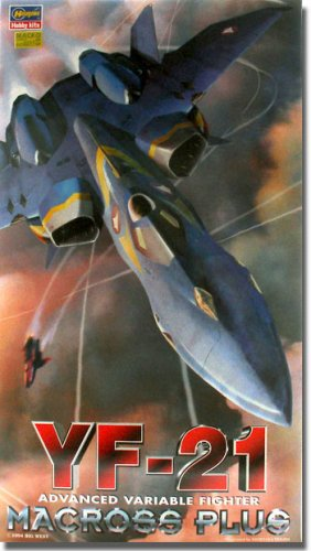 1/72 超時空要塞マクロスシリーズ YF-21(マクロスプラス) #M11