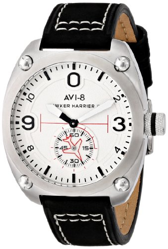 AVI-8 Men's AV-4026-01 Hawker Harrier II Analog Display Japanese Quartz Black Watch