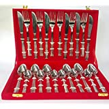 DEEP CUTLERY 24PCS SET FOR SIX PERSONS IN VELVET BOX