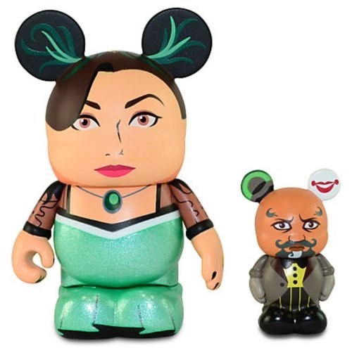 Disney Oz the Great and Powerful Series Vinylmation Figure Set - 3'' Evanora with 1 1/2'' Knuck - 1