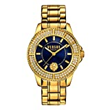 Versus by Versace Women's SGM270015 Tokyo Crystal Analog Display Quartz Gold Watch