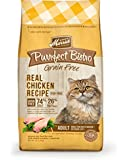 Merrick Purrfect Bistro Grain Free Real Chicken Recipe Dry Cat Food, 12-Pound