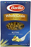 Barilla Whole Grain Rotini Pasta, 13.25 Ounce Boxes (Pack of 4)