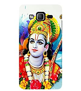 Evaluze RAM JI Printed Back Cover for SAMSUNG GALAXY ON5 2015