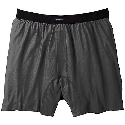 ExOfficio Men's Give-N-Go Boxer,Charcoal,Large