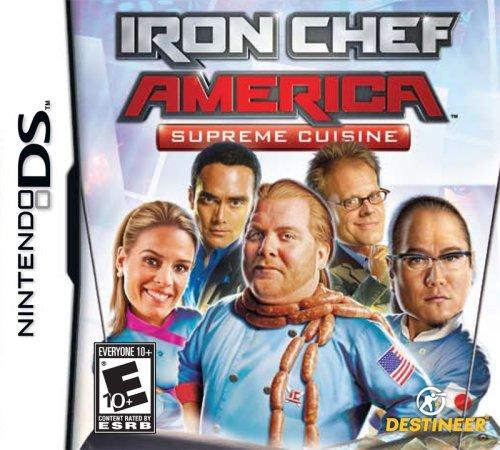 Iron Chef America/Supreme Cuisine - Nintendo DS - 1