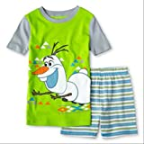 Disney - Frozen - Olaf 2 Piece Pajama Set for Boys