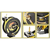 Pentagon Tools 3260 Reel Kwik Air Hose Reel, 100'