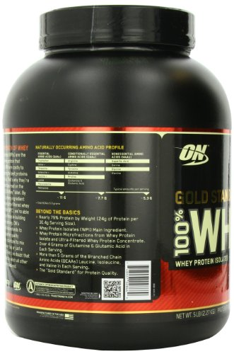 Optimum nutrition 100 whey gold standard 5 pound