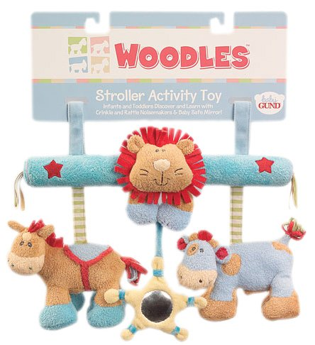 Woodles Stroller Activity Toy by Gund - Buy Woodles Stroller Activity Toy by Gund - Purchase Woodles Stroller Activity Toy by Gund (Toys & Games, Categories, Stuffed Animals & Toys, Animals)