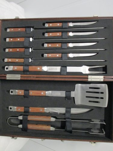 Charmglow 12 Piece Barbecue Tool Set
