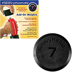 Lion Sports 46907 Heavyhands 7 Pound Add-On Weights