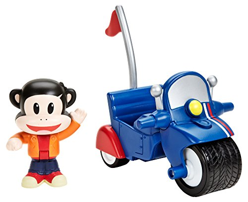 Fisher-Price Julius Jr. Pullback Racer - Julius' Invento-Cycle - 1