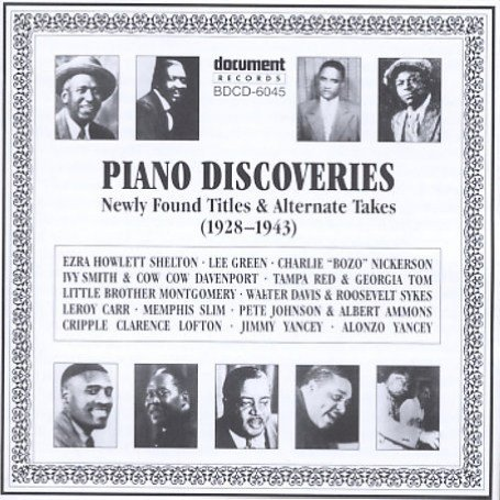 artist - Piano Discoveries: Newly Found Titles & Alternate Takes (1928-1943) - Zortam Music