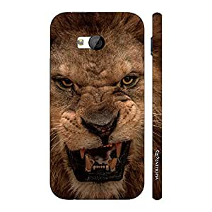 Enthopia Designer Hardshell Case Ferociouscity Kills The Prey Back Cover for HTC One M7