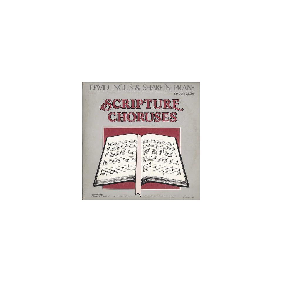 David Ingles &Share n Praise Scripture Choruses TRIPLE LP on