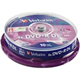 Verbatim 43666 - Dvd +R Doble Capa 8.5Gb 8X Spindle 10 Advanced Azo