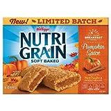 Kellogg's Nutri-Grain Cereal Bars Pumpkin spice 10.4 oz (Tamaño: 10.4 oz)