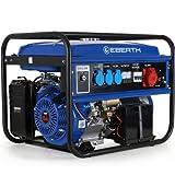 EBERTH 5500 Watt Stromerzeuger Notstromaggregat Stromaggregat Generator E-Start