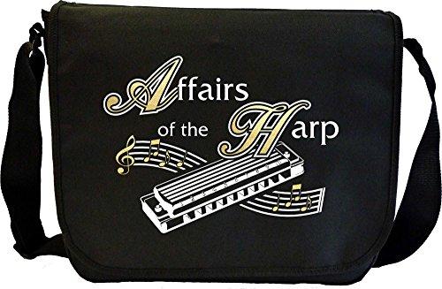 Harmonica-Affairs-Of-The-Harp-Sheet-Music-Document-Bag-Musik-Notentasche-MusicaliTee
