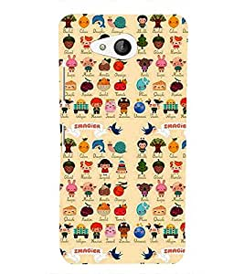 FUNNY CARTOONS Designer Back Case Cover for Microsoft Lumia 650