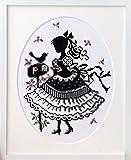 オリムパス製絲 クロスステッチししゅうキット 「オノエ・メグミの少女のステッチ」No.7383 手紙