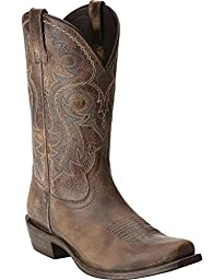 Ariat Men\'s Lawless Western Boot,  Rustic Maple,  8.5 M US