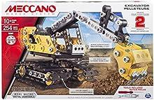 Comprar Meccano Construction Digger - juegos de construcción (Vehicle, Negro, Metálico, Amarillo, Metal, Caja)