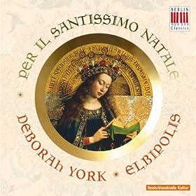 Sinfonia Pastorale per il Santissimo Natale for two violins, viola (ad libitum) and b. c.: 1. Largo, e puntato