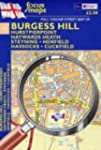 Full Colour Street Map of Burgess Hil...