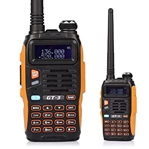 5 Pack Baofeng GT-3 Transceiver, FM Radio, Dual Band 136-174 400-520 MHz, Chipsets... by BaoFeng
