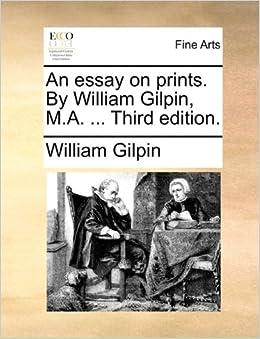 essay prints william gilpin