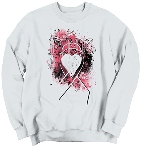 Fight Support Breast Cancer Awareness Womens Clothes Pink Gift Sweatshirt