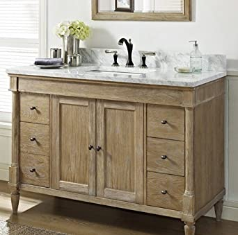 fairmont designs 142 v48 rustic chic 48 inch vanity in. Black Bedroom Furniture Sets. Home Design Ideas