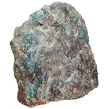American Educational Chrysocolla Mineral, 10 Pieces