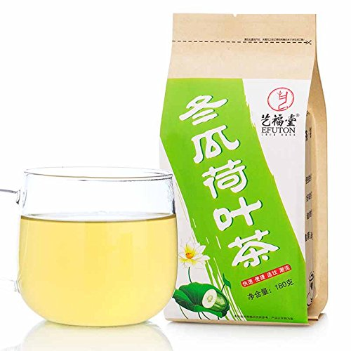 Wax Gourd And Lotus Leaf Tea Bags 180G Efuton Chinese Natural Organic Flora Herbal Tea Convenient