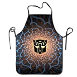 Healthb Rescue Bots Autobot Symbol Logo Stitched Edges Cooking Apron Black