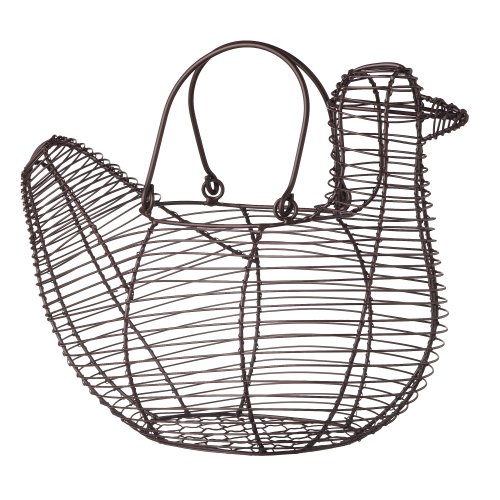 Grasslands Road 2-Pack Metal Wire Spring Meadow Duck Basket, 10-Inch