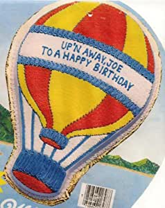 Wilton Cake Decorating Balloons : Amazon.com: Wilton Cake Pan: Up n Away Hot Air Balloon/Ice ...