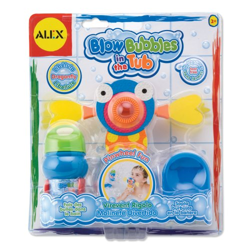 ALEX Toys Rub a Dub Blow Bubbles in the Tub Dragonfly