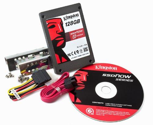 Kingston SSDNow V Series 128GB SATA2 2.5 inch Drive Desktop Upgrade Kit