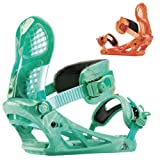 K2 Binding Hurrithane Teal-Orange/Sarcelle_Orange XL