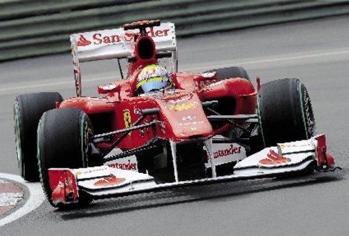 Imagen principal de Clementoni 30085.3 - Puzzle de 350 piezas, diseño de coche de F1 Red Light