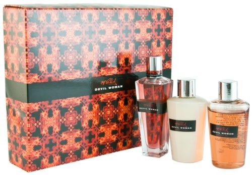 Cliff Richard Devil Woman Eau De Parfum Gift Set for Women 50ml