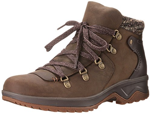 Merrell - Eventyr Bluff Wtpf, Stivale Da Neve da donna, marrone (dark earth), 38